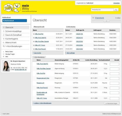 Abbildung 1 Klick-Bestellung